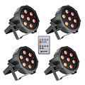 Cameo Flat PAR Tri 3W IR WH Set « LED Lights