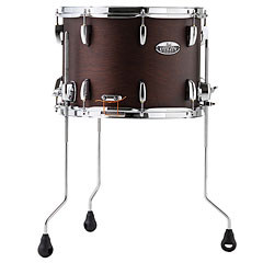 "Pearl Modern Utility 14"" x 10"" Satin Mahogany Limited Edition Floor Snare Drum « Snare Drum"