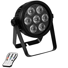 Eurolite LED 7C-7 Silent Slim Spot « Lampe LED