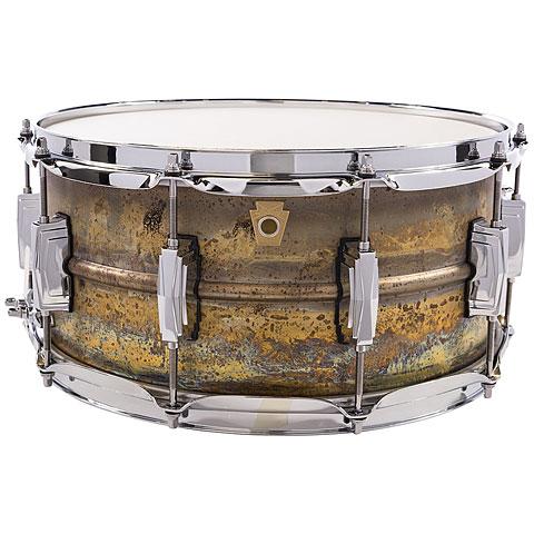 "Caja Ludwig Brass Phonic L464R 14"" x 6,5"" Raw Brass"