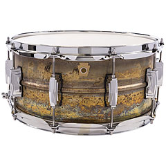 "Ludwig Brass Phonic L464R 14"" x 6,5"" Raw Brass « Snare Drum"
