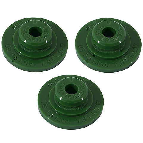 The Grombal Green Cymbal Protector 3-Pack
