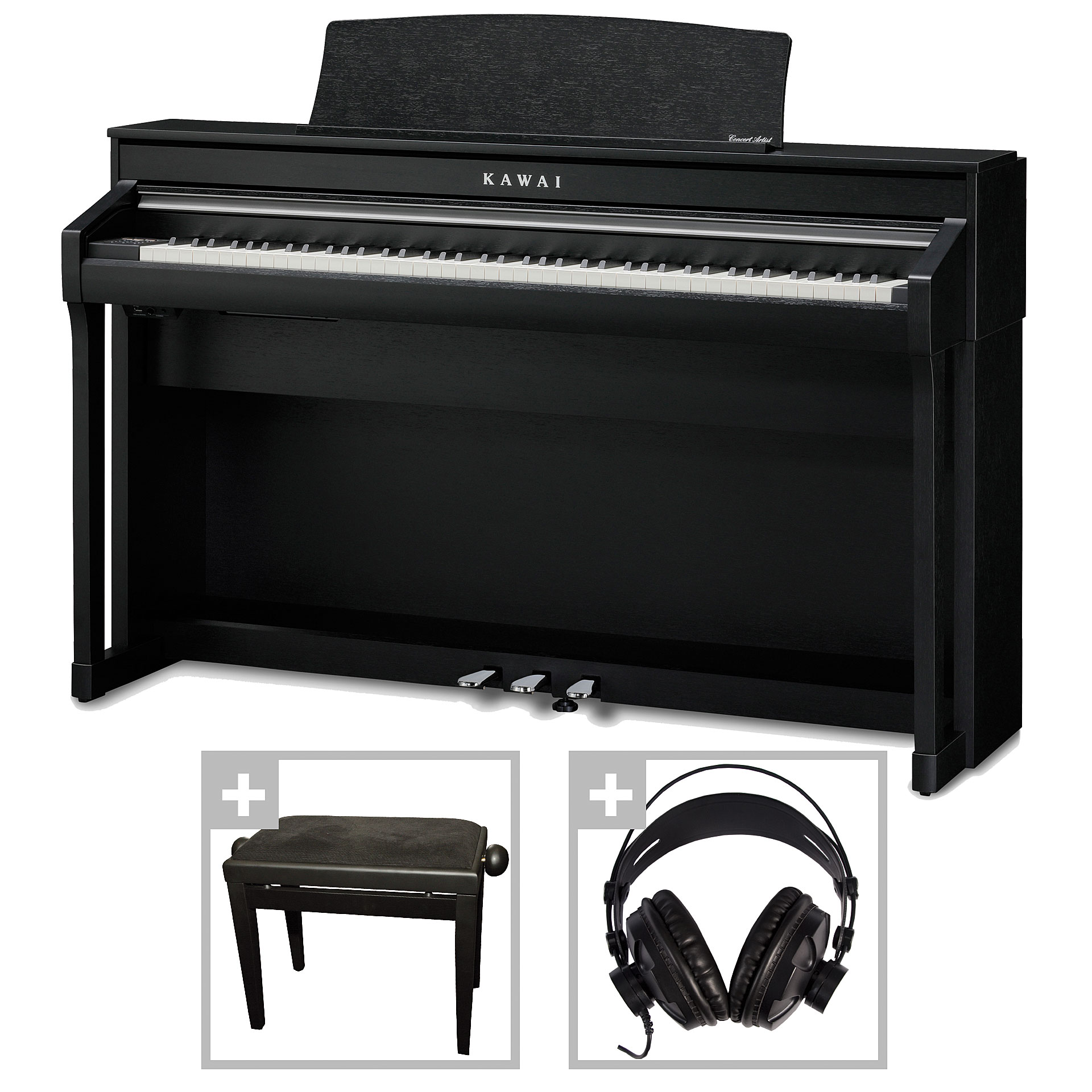 kawai ca 58 b set digitalpiano musik produktiv. Black Bedroom Furniture Sets. Home Design Ideas