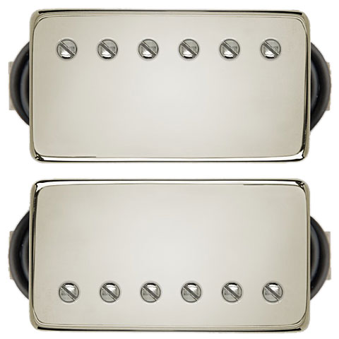 Pickup electr. gitaar Bare Knuckle Painkiller Covered Set 6 String Nickel