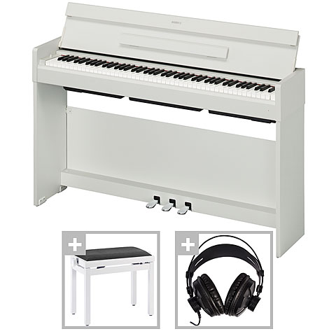 yamaha arius ydp s34 wh set digitalpiano. Black Bedroom Furniture Sets. Home Design Ideas
