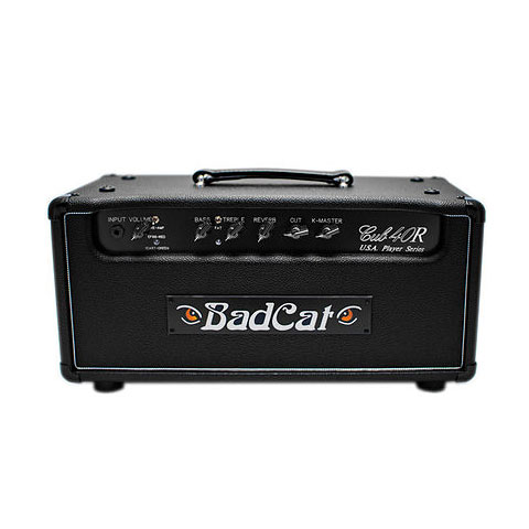 Topteil E-Gitarre Bad Cat Black Cat Cub 40 Watt USA Player Serie
