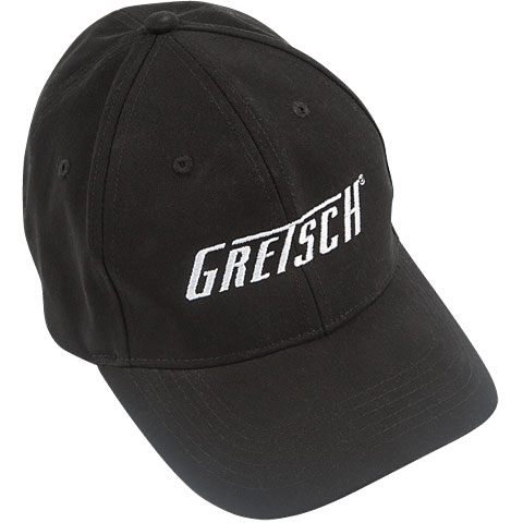 Cap Gretsch Guitars Flexfit Hat, black L/XL