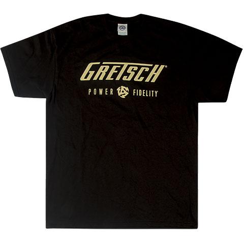 Camiseta manga corta Gretsch Guitars Power & Fidelityt Logo ,S
