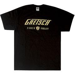 Gretsch Guitars Power & Fidelity Logo ,S « T-Shirt