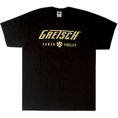 Gretsch Guitars Power & Fidelityt Logo XL « Camiseta manga corta
