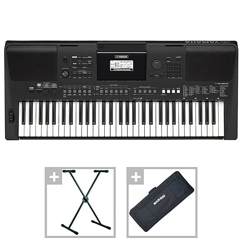 Keyboard Yamaha PSR-E463 Set II