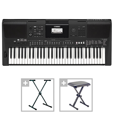 Keyboard Yamaha PSR-E463 Set III
