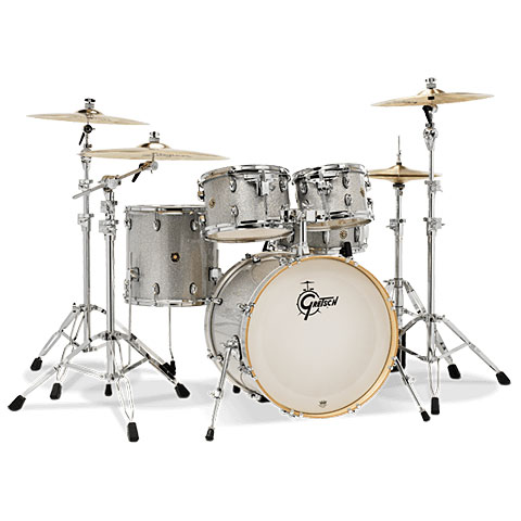 "Schlagzeug Gretsch Drums Catalina Maple 22"" Silver Sparkle"
