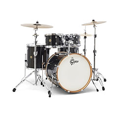 "Gretsch Drums Catalina Maple 22"" Black Stardust « Drumstel"