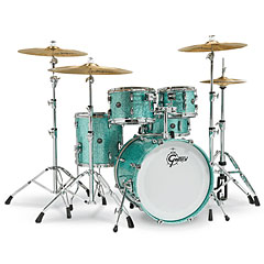 "Gretsch Drums Renown Maple 22"" Turquoise Sparkle « Drum Kit"