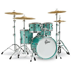 "Gretsch Drums Renown Maple 20"" Turquoise Sparkle « Drum Kit"