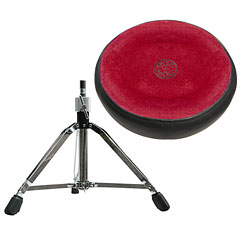 Roc-N-Soc Red Round Drum Seat « Siège de batterie