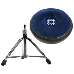 Roc-N-Soc Blue Round Drum Seat « Drumhocker