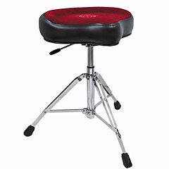 Roc-N-Soc X-tra Height Original Gas Drum Seat Red « Drumhocker