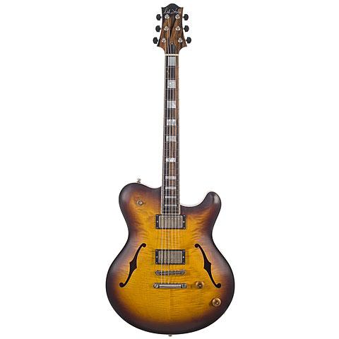 Nik Huber Rietbergen Tobacco Sunburst « Guitare électrique
