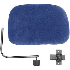 Roc-N-Soc Blue Backrest for all Models « Siège de batterie