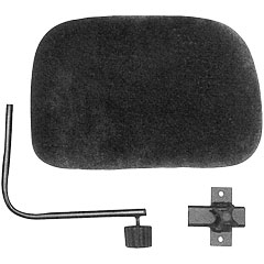 Roc-N-Soc Black Backrest for all Models « Drumhocker