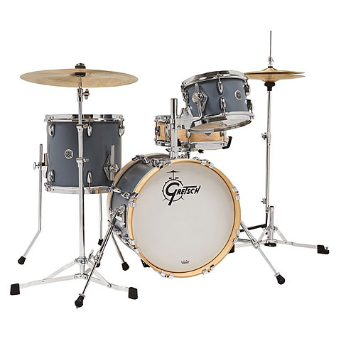 Schlagzeug Gretsch Drums USA Brooklyn Satin Grey Micro Kit