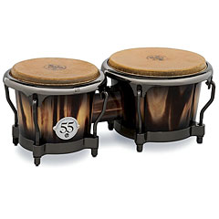 Latin Percussion 55th Anniversary Candy Black Burst Bongo « Bongo