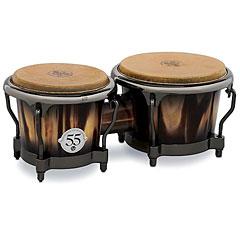 Latin Percussion 55th Anniversary Candy Black Burst Bongo « Bongos
