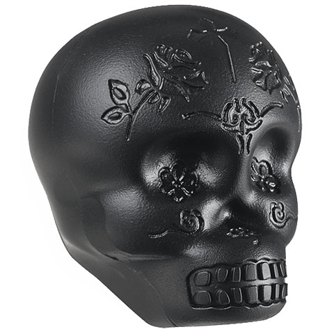 Shaker Latin Percussion Sugar Skull Shaker Black