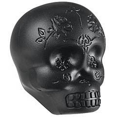 Latin Percussion Sugar Skull Shaker Black