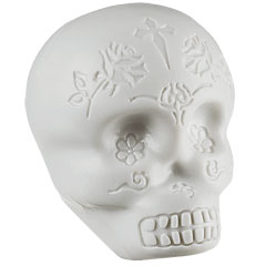 Latin Percussion Sugar Skull Shaker Glow In The Dark « Shaker