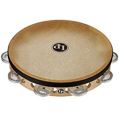 """Latin Percussion 10"""" Single Row Aluminium Jingles Headed Tambourine « Pandereta"""