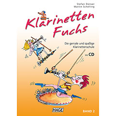 Hage Klarinetten-Fuchs Bd.2 « Instructional Book