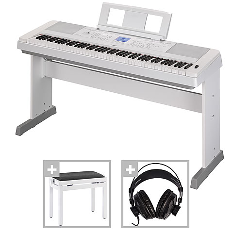 Digitalpiano Yamaha DGX-660 WH Set