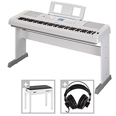 Yamaha DGX-660 WH Set « Piano digital