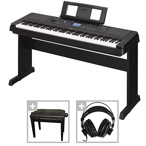 Digitalpiano Yamaha DGX-660 B Set