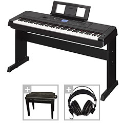 Yamaha DGX-660 B Set « Pianoforte digitale