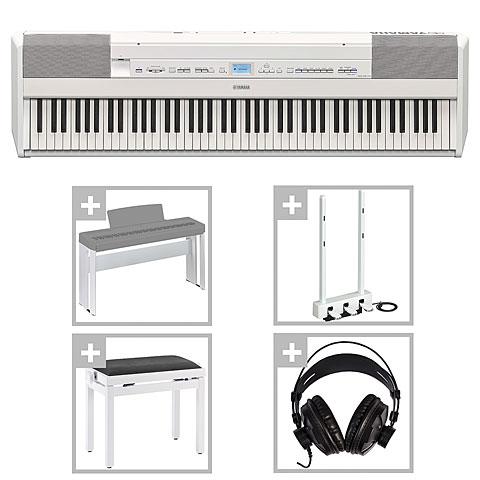Piano escenario Yamaha P-515 WH Deluxe Set