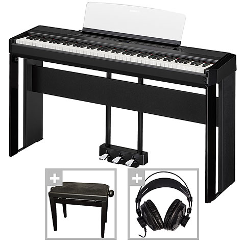 yamaha p 515 b deluxe set piano de sc ne. Black Bedroom Furniture Sets. Home Design Ideas