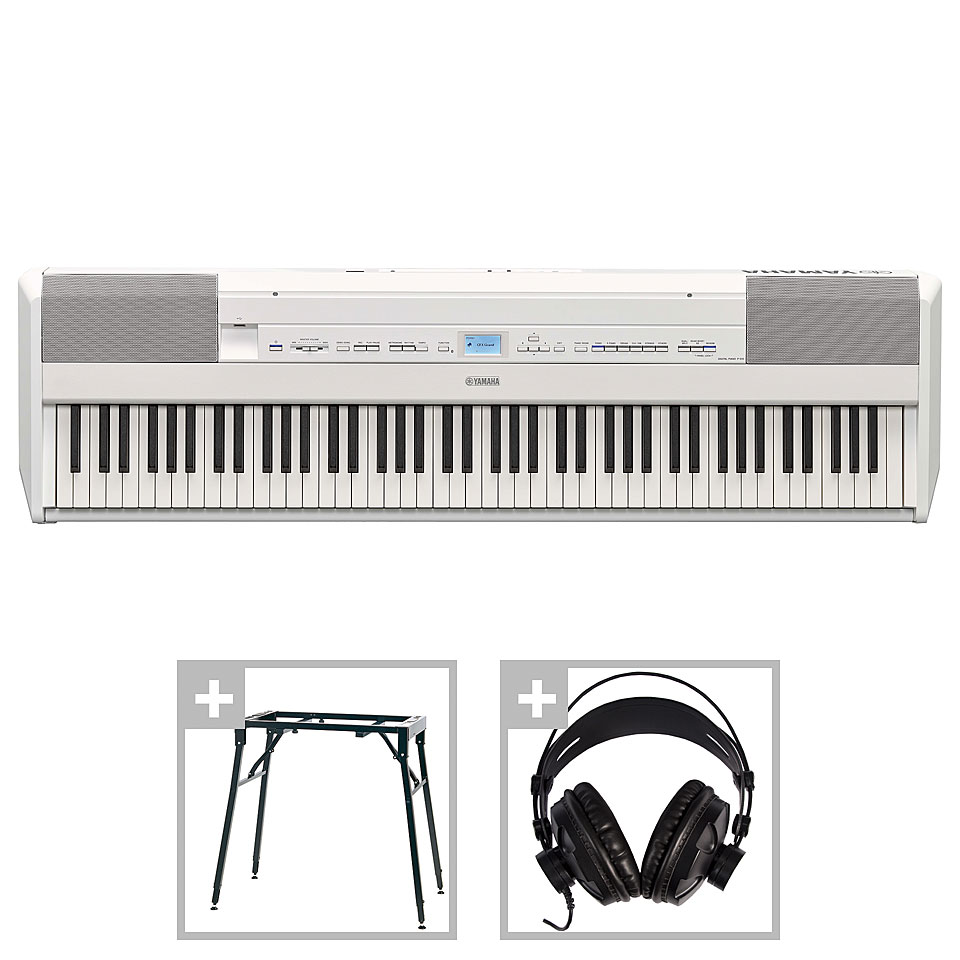 Stagepianos - Yamaha P 515 WH Set 1 Stagepiano - Onlineshop Musik Produktiv