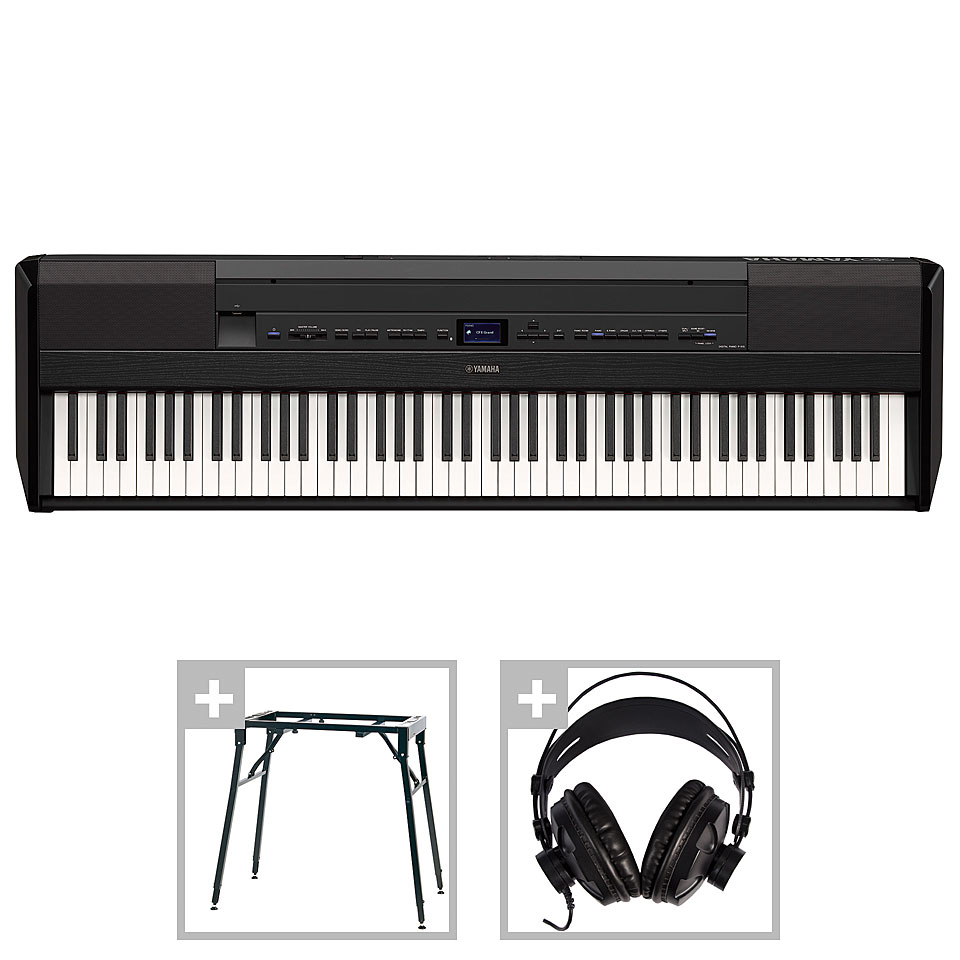 Stagepianos - Yamaha P 515 B Set 1 Stagepiano - Onlineshop Musik Produktiv