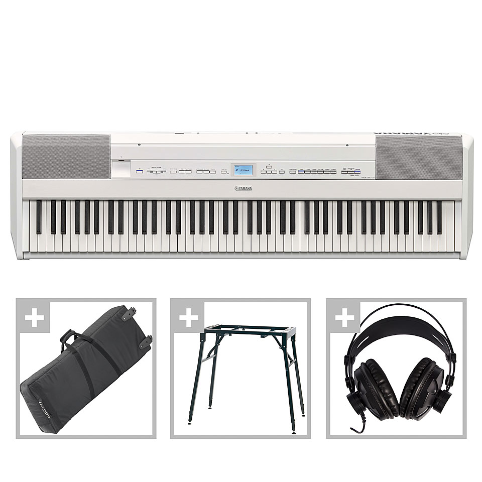 Stagepianos - Yamaha P 515 WH Set 2 Stagepiano - Onlineshop Musik Produktiv