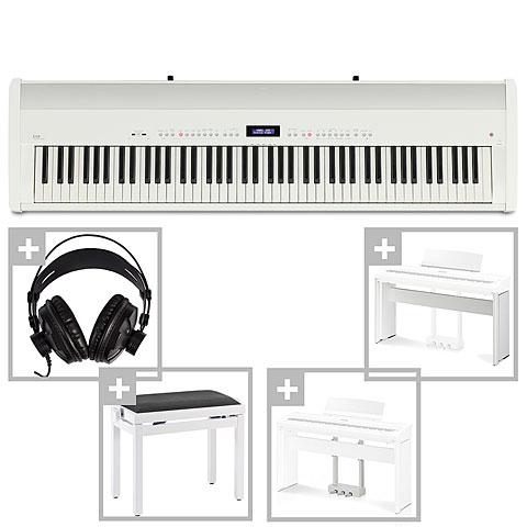 Piano de scène Kawai ES 8 WH Deluxe Set