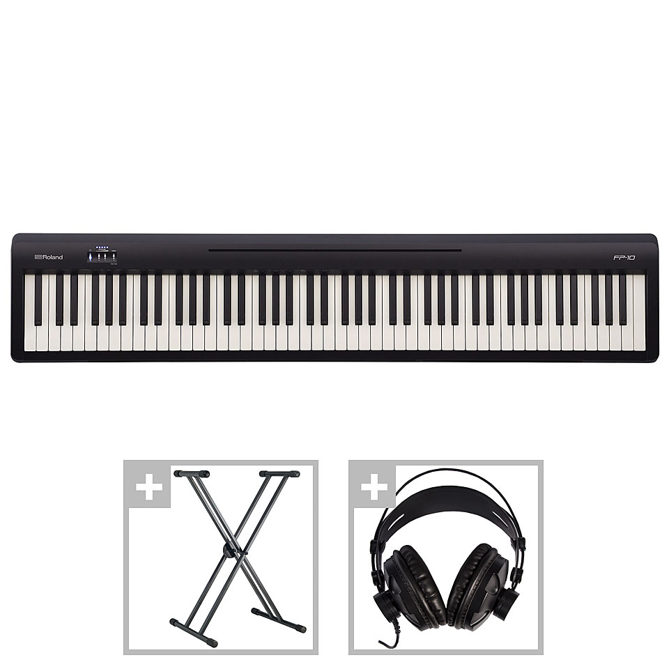 Stagepianos - Roland FP 10 Set I Stagepiano - Onlineshop Musik Produktiv