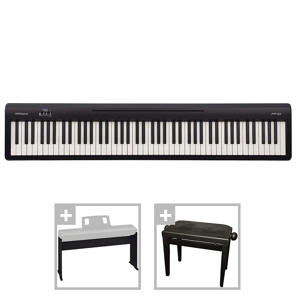 Stagepianos - Roland FP 10 Set III Stagepiano - Onlineshop Musik Produktiv