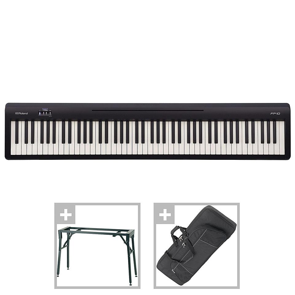 Stagepianos - Roland FP 10 Set II Stagepiano - Onlineshop Musik Produktiv
