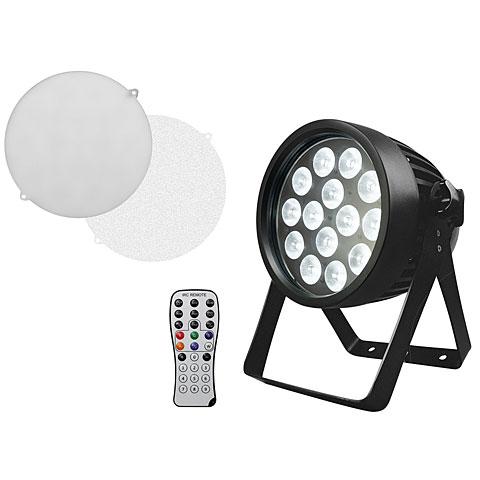 Lampe LED Eurolite LED IP PAR 14x8W QCL