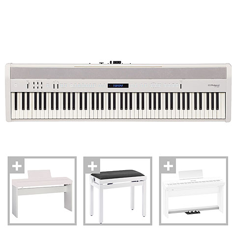 Piano de scène Roland FP-60-WH Home Set