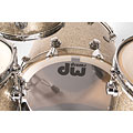 Batterie acoustique DW Collector's Finish Ply Nickel Sparkle